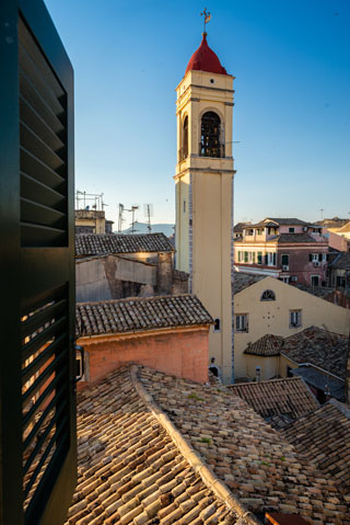 Corfu Skyloft 4 best place stay corfu old town skyloft 4