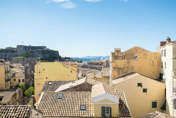 corfu old town apartment to stay with unique view